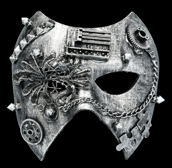 Steampunk Mask - Dark Ruler