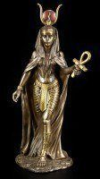 Egypt Goddess Hathor Figurine - bronze