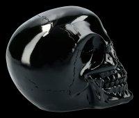 Skull - shiny black