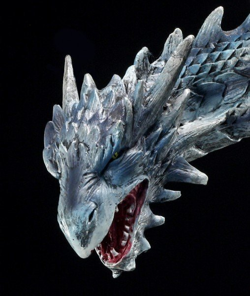 Drachen Figur - Nitidius im Eis