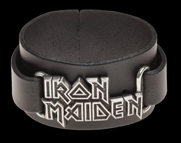 Iron Maiden Leder-Armband - Alchemy Rocks