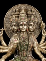 Gayatri Mantra Figurine - Indian Goddess