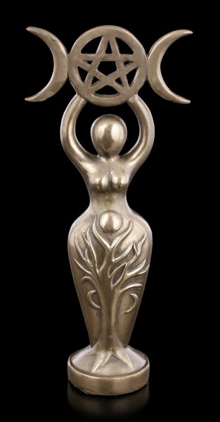 Spiral Goddess Idol Figurine