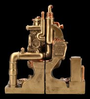 Steampunk Bookends - Split