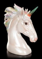 Unicorn Bust with LED - Pearlescent
