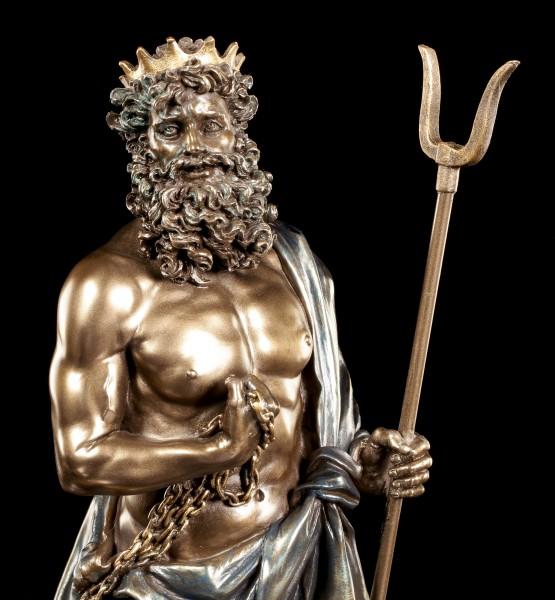 Hades Figurine with Cerberus - God of the Underworld