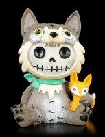 Furry Bones Figurine - Wolfgang
