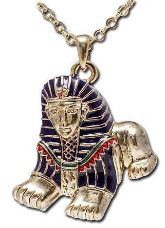 ägyptische Halskette - Androsphinx