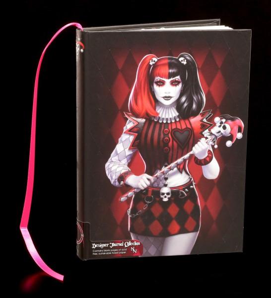 Notizbuch mit Harlekin - Dark Jester