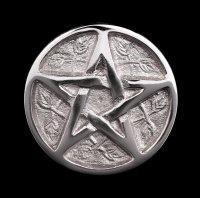 Aluminium Incence Cone Holder - Pentagram