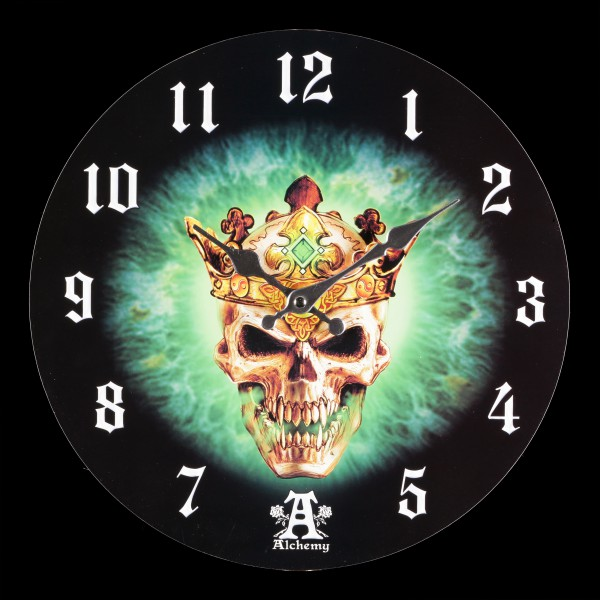 Clock with Skull - Prince of Oblivion