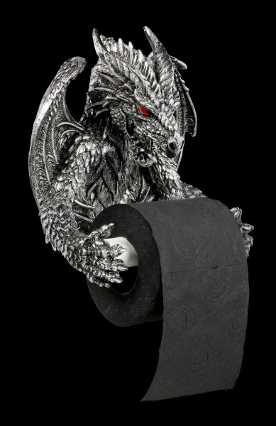 Toilet Paper Holder - Obsidian Dragon