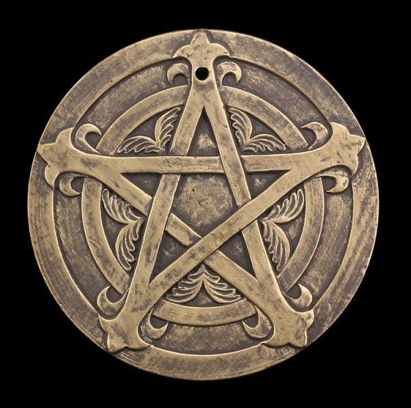 Wall Plaque - Terracotta Pentagram