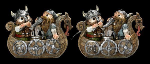Funny Viking Figurine - Happy Boat Trip