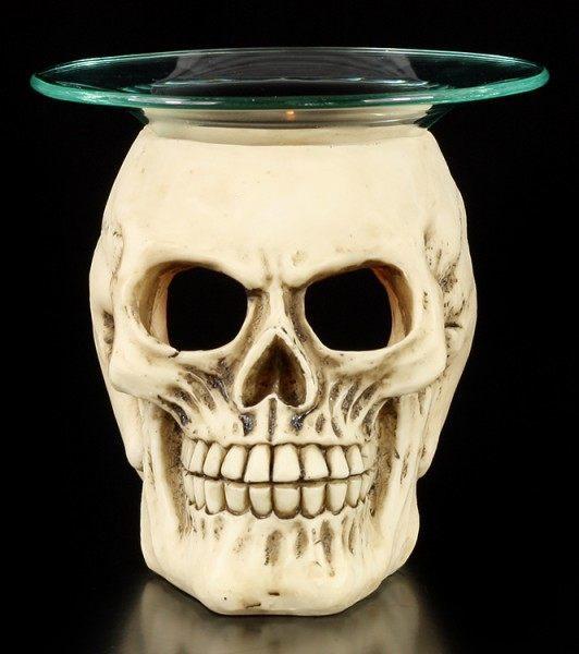 Totenkopf Duftlampe