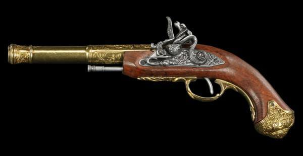 Flintlock Pistol - India Left-Handed