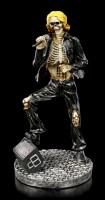 Skeleton Figurine - Rock Star Singer