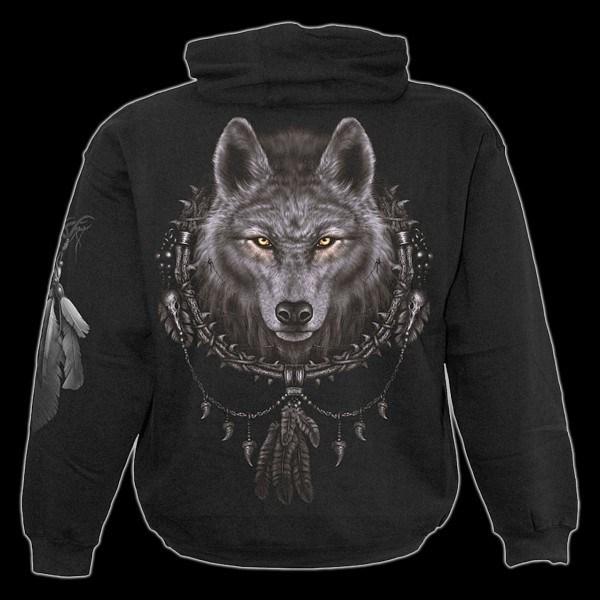 Kapuzenpulli Fantasy - Wolf Dreams