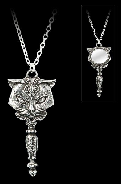 Alchemy Katzen Halskette - Sacred Cat Vanitas