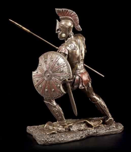 Achilles Figur - Mit Speer und Schild zum Angriff