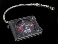 3D Geldbeutel mit Reaper - Rock God