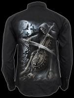 Herrenhemd Gothic Reaper - Symphony of Death