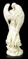 Kleine Erzengel Figur - Jehudiel - Weiß