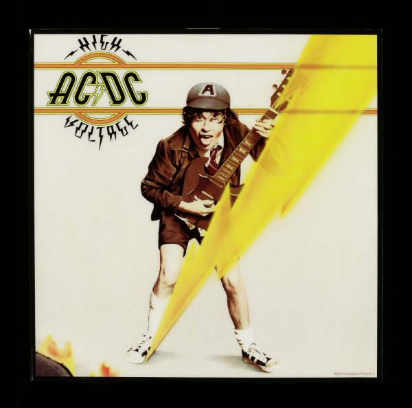 AC/DC Hochglanz Bild - High Voltage