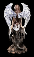 Angel Figurine with Griffin - Light & Darkness