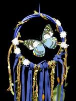 Blue Butterfly Dreamcatcher