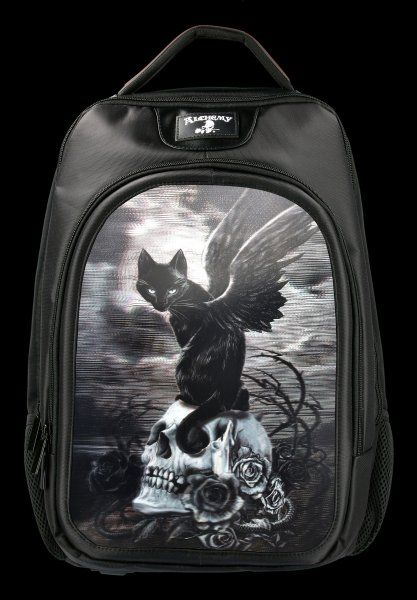 3D Backpack with Cat - Nine Lives Of Poe