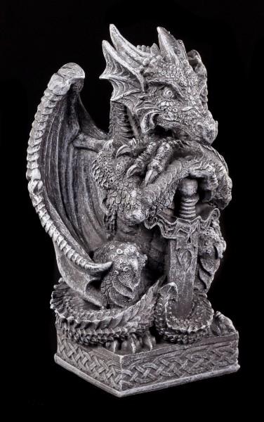 Drachen Figur - Syus mit Schwert