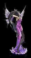 Fairy Figurine with Sea Dragon