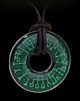 Angel Ring - Alchemy Gothic Halskette