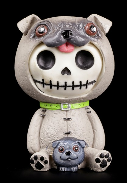 Furry Bones Figur - Pug