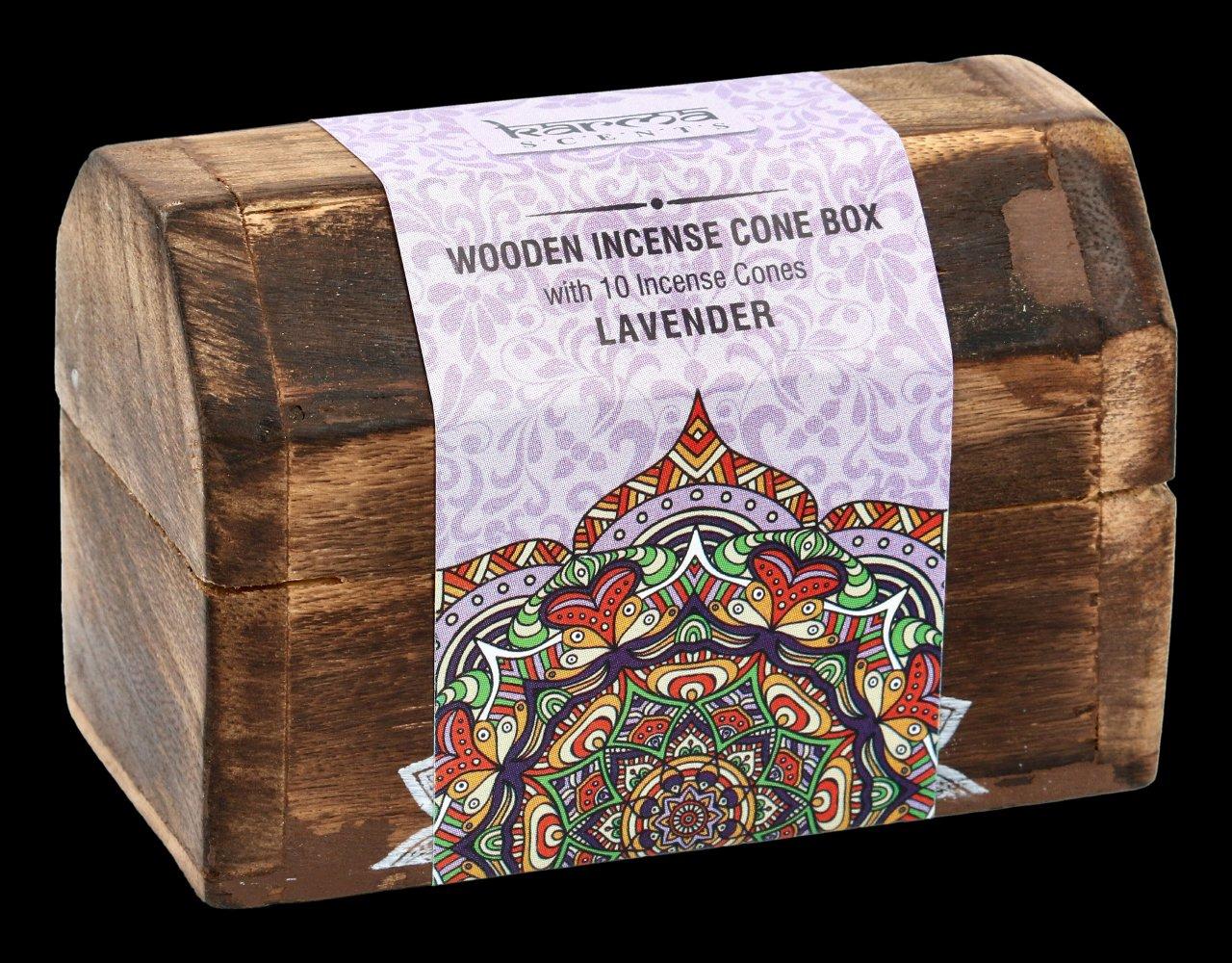Karma Räucherbox - Lavendel