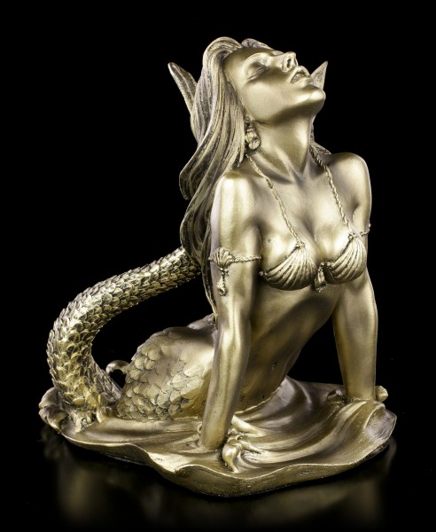 Mermaid Figurine by Monte M. Moore