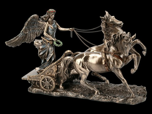 Nike Figurine in Chariot