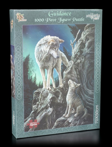 Jigsaw Puzzle with Wolves - Guidance