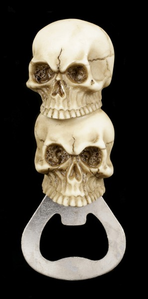 Skull Bottle Opener with Magnet