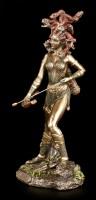Medusa Figur - Mit Bogen und Pfeilköcher