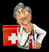 Funny Job Memo Holder - Doctor