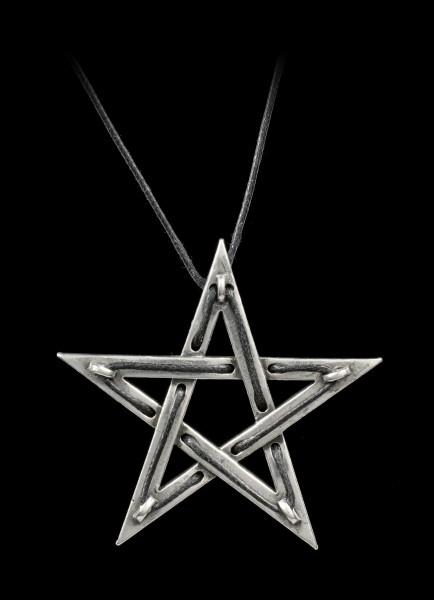 Alchemy Pentagram Necklace - Tethered Hex