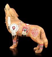Wolf Spirit Figur - Krieg