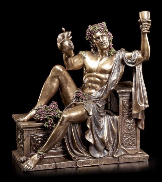 Dionysos Figur - Griechischer Gott des Weines ruht