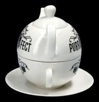 Teekannen Set Katze - Purrfect Brew