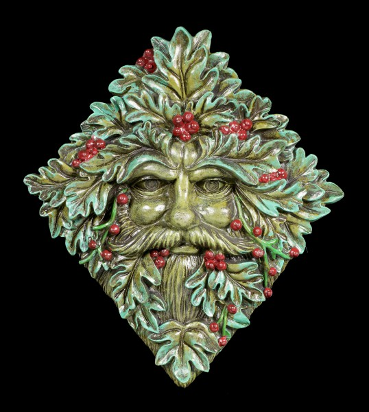Tree Spirit Wall Plaque - Berry Beard