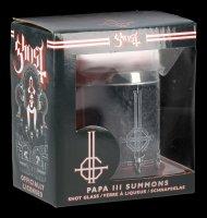 Ghost Shot Glass - Papa III Summons