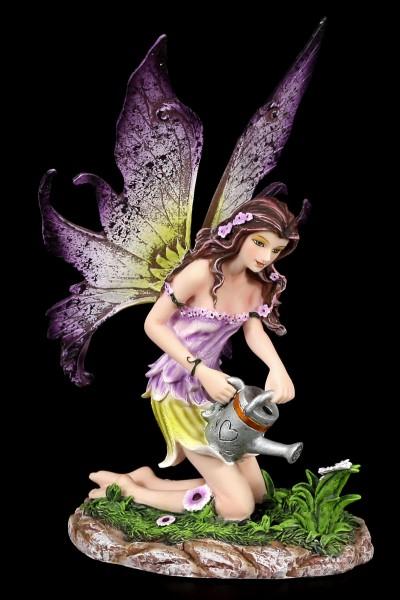 Elfen Figur - Viola giesst Blumen