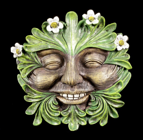 Forest Spirit Wall Plaque - Daisyhead